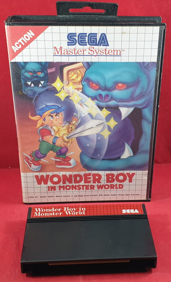 Wonder Boy in Monster World Sega Master System Game