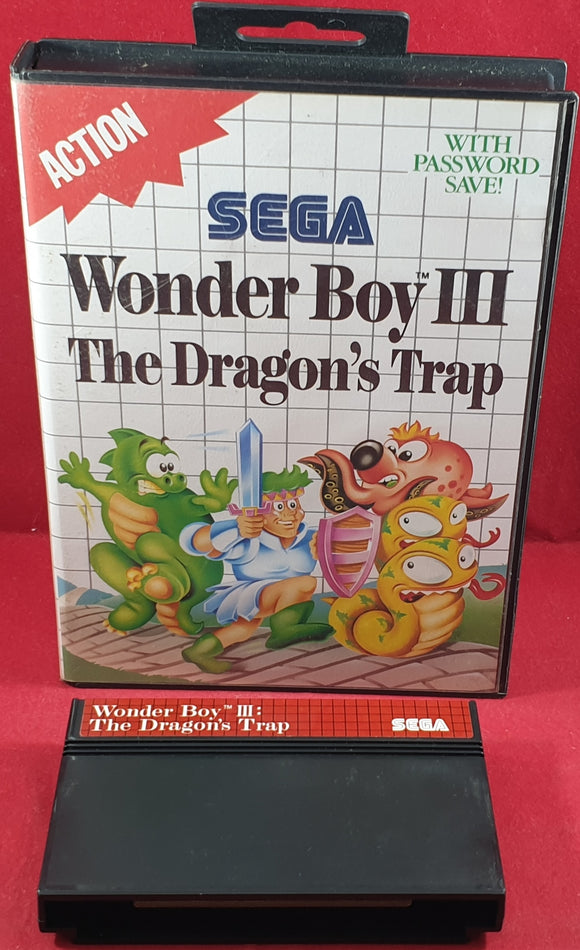Wonder Boy III the Dragon's Trap Sega Master System Game