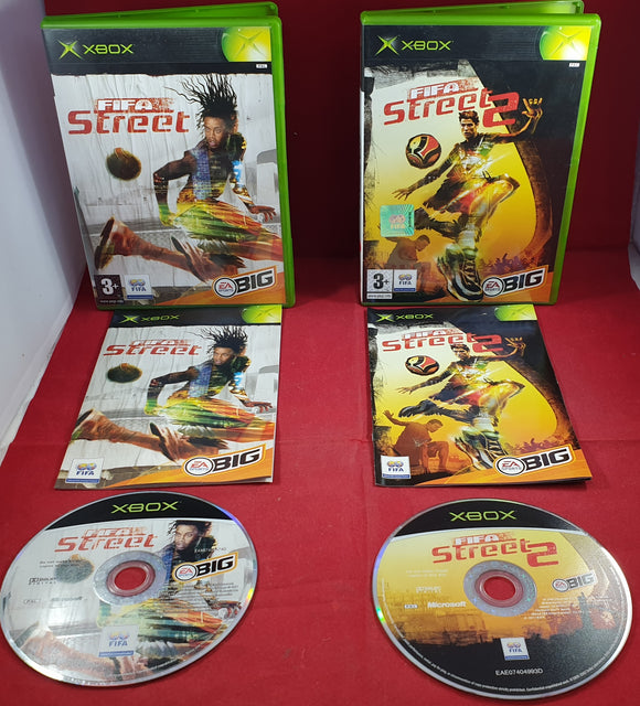 Fifa Street 1 & 2 Microsoft Xbox Game Bundle