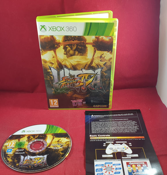Ultra Street Fighter IV Microsoft Xbox 360 Game