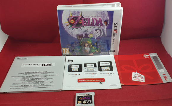 The Legend of Zelda Majora's Mask 3D Nintendo 3DS Game