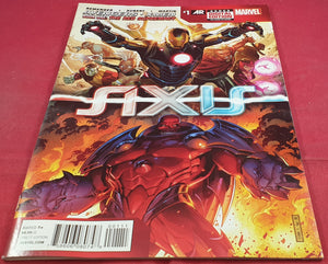 Marvel Axis Avengers & X-men #1 Book One the Red Supremacy Comic