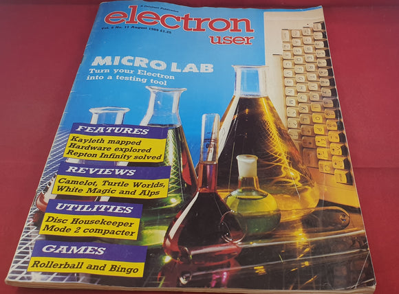 Electron User Volume 6 Number 11 Magazine Book