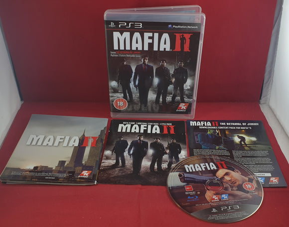 Mafia II with Map Sony Playstation 3 (PS3) Game