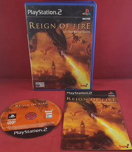 Reign of Fire Sony Playstation 2 (PS2) Game