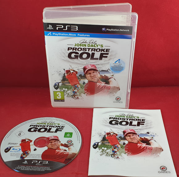 John Daly's ProStroke Golf Sony Playstation 3 (PS3) Game