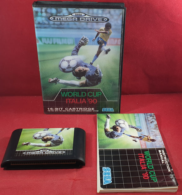 World Cup Italia 90 Sega Mega Drive Game