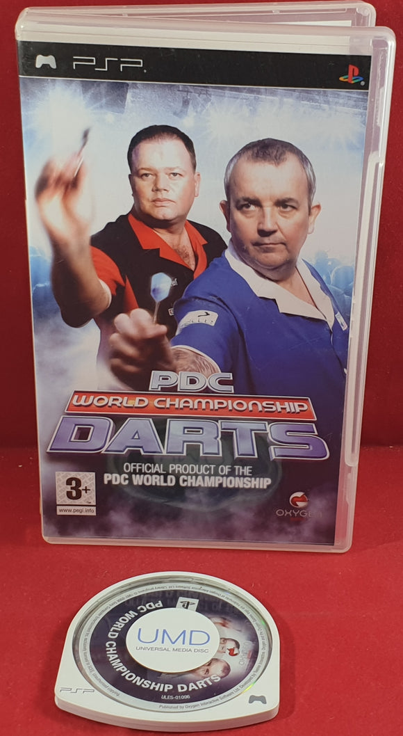 PDC World Championship Darts Sony PSP Game