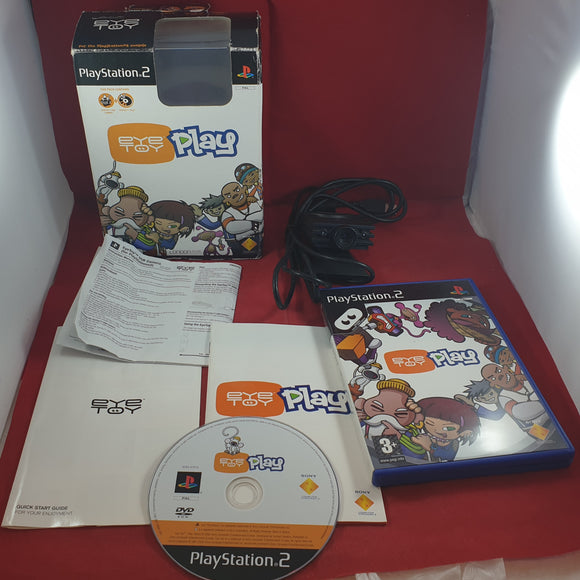 Boxed Eyetoy Camera Accessory with Eyetoy Play Sony Playstation 2 (PS2)