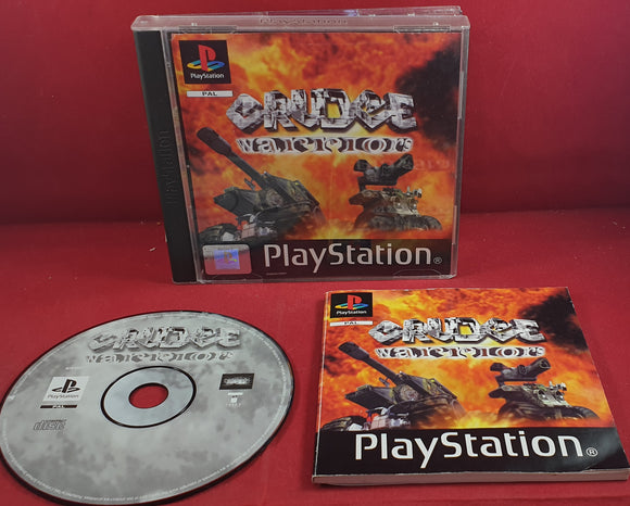 Grudge Warriors Sony Playstation 1 (PS1) Game