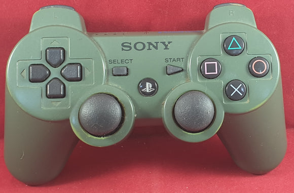 Jungle Green Official Sony Playstation 3 (PS3) Dualshock 3 Wireless Controller RARE Accessory