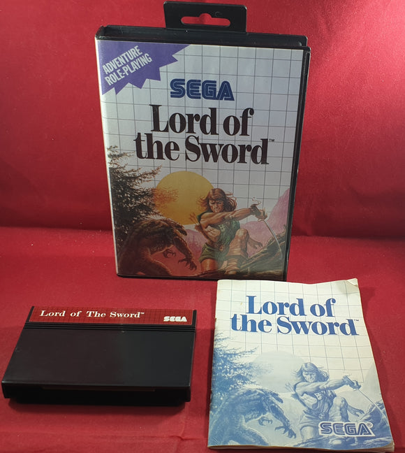 Lord of the Sword Sega Master System Game