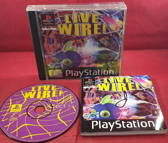 Live Wire Sony Playstation 1 (PS1) Game