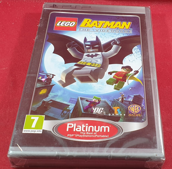 Brand New and Sealed Lego Batman Sony PSP Game