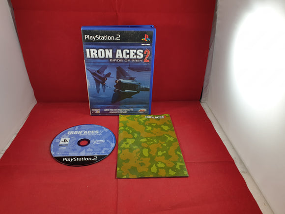 Iron Aces 2 Birds of Prey Sony Playstation 2 (PS2) Game