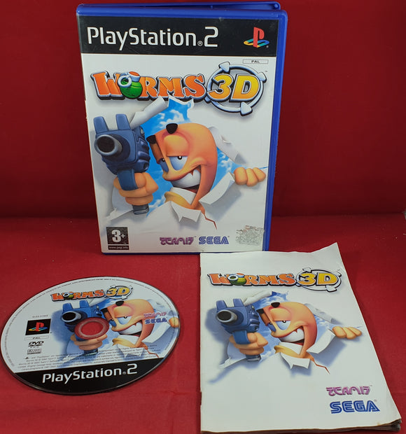 Worms 3D Sony Playstation 2 (PS2) Game