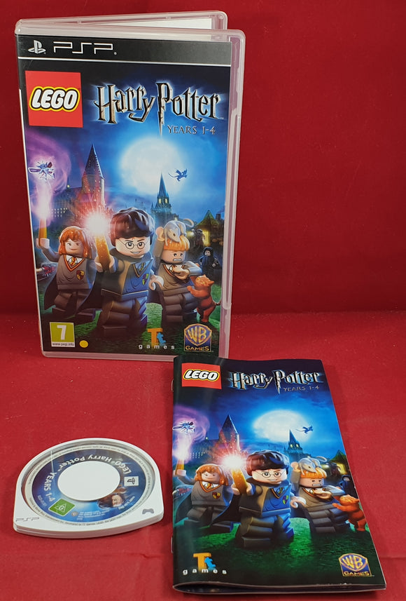 Lego Harry Potter Years 1 - 4 Sony PSP Game