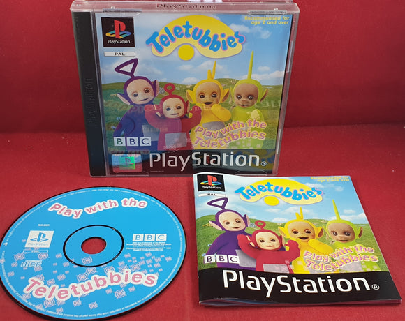 Play with the Teletubbies Sony Playstation 1 (PS1) Game