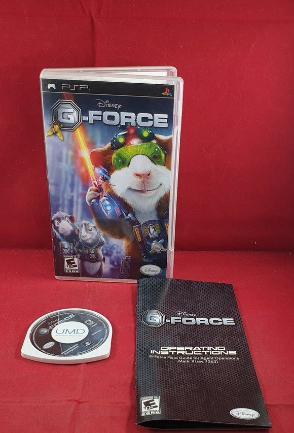 Disney G-Force Sony PSP Game