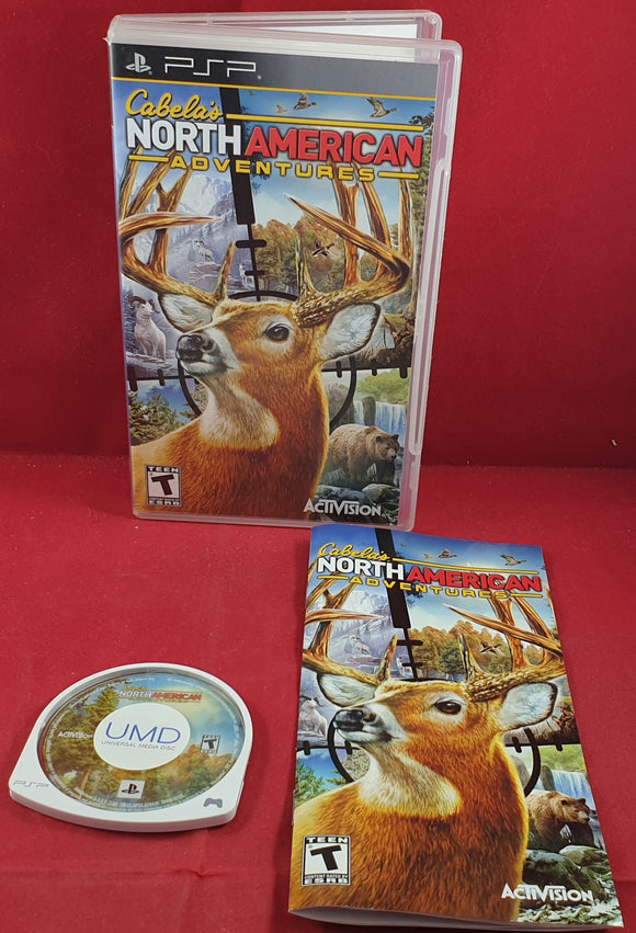 Cabela's North American Adventures Sony PSP Game