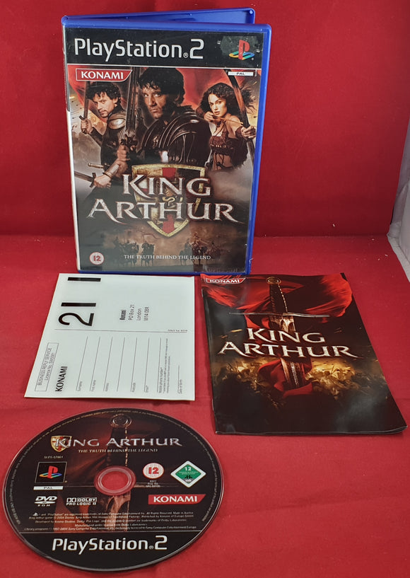 King Arthur the Truth Behind the Legend Sony Playstation 2 (PS2) Game