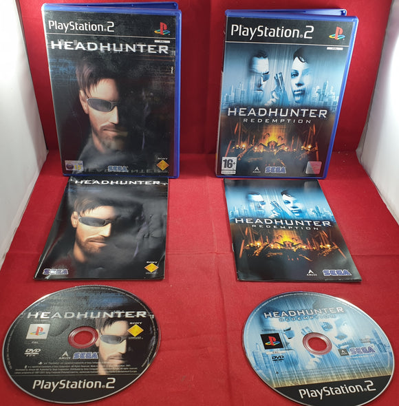 Headhunter & Headhunter Redemption Sony Playstation 2 (PS2) Game Bundle