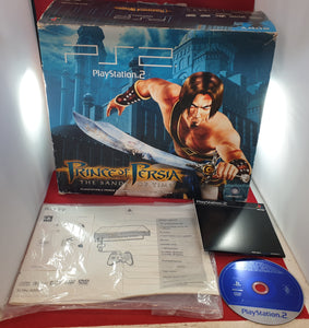 Limited Edition Prince of Persia Sands of Time Sony Playstation 2 (PS2) SCPH 50003 PP Console Complete