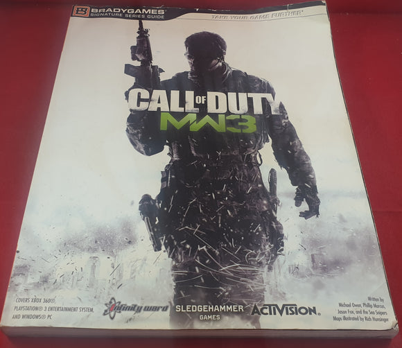 Call of Duty Modern Warfare 3 Strategy Guide Paperback Book
