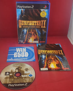 Gunfighter II Revenge of Jesse James Sony Playstation 2 (PS2) Game