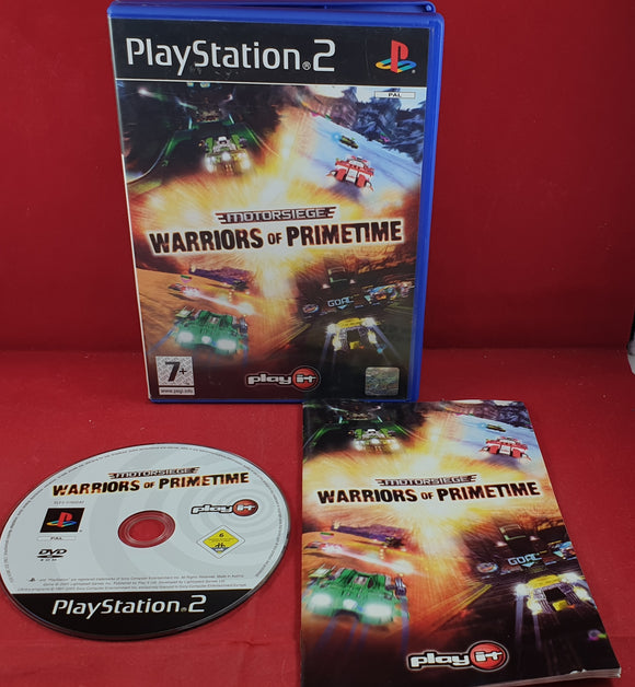 Motorsiege Warriors of Primetime Sony Playstation 2 (PS2) Game