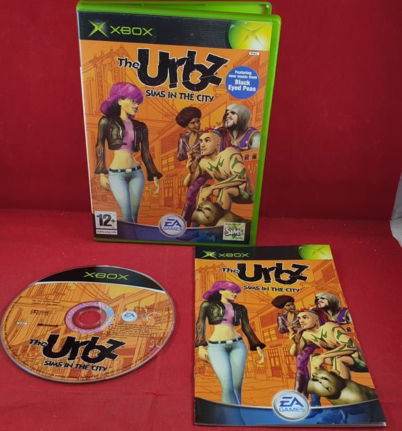 The Urbz Sims in the City Microsoft Xbox Game