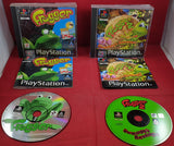Frogger 1 & 2 Sony Playstation 1 (PS1) Game Bundle