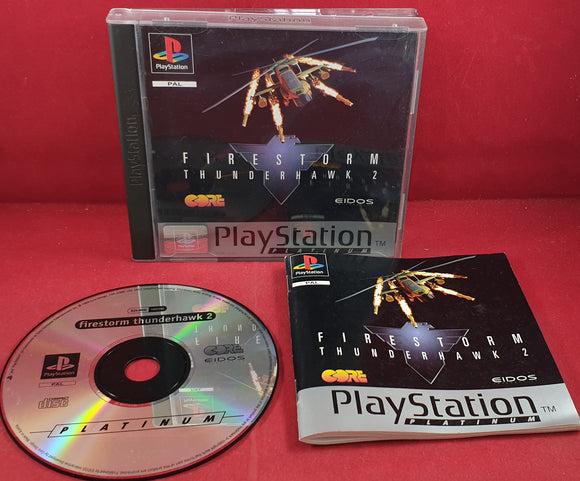 Firestorm ThunderHawk 2 Platinum Sony Playstation 1 (PS1) Game