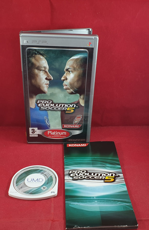 Pro Evolution 5 AKA World Soccer Winning Eleven 9 Sony PSP Game