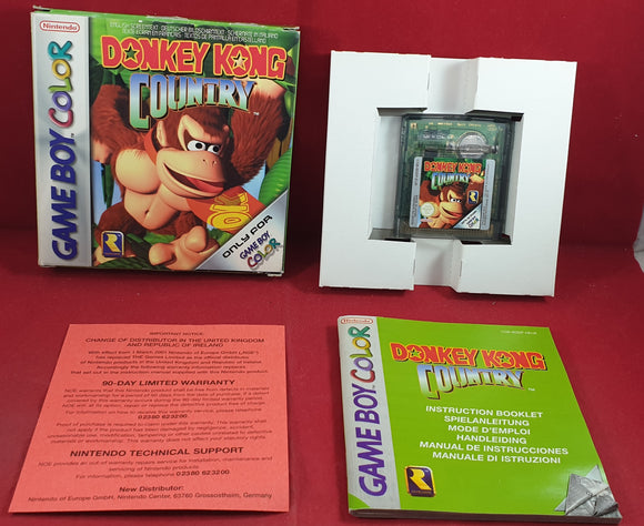 Donkey Kong Country Nintendo Game Boy Color Game