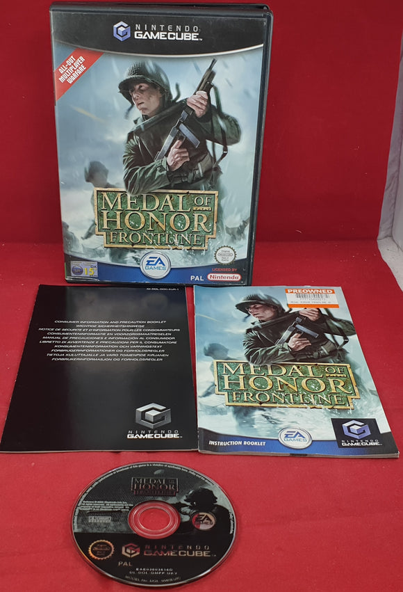 Medal of Honor Frontline Nintendo GameCube Game