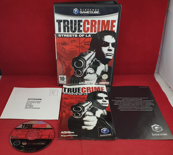 True Crime Streets of LA Nintendo GameCube Game