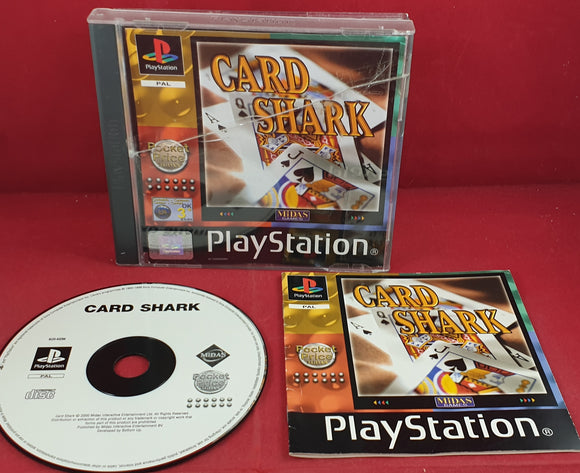 Card Shark AKA Family Card Games Fun Pack Sony Playstation 1 (PS1) Game
