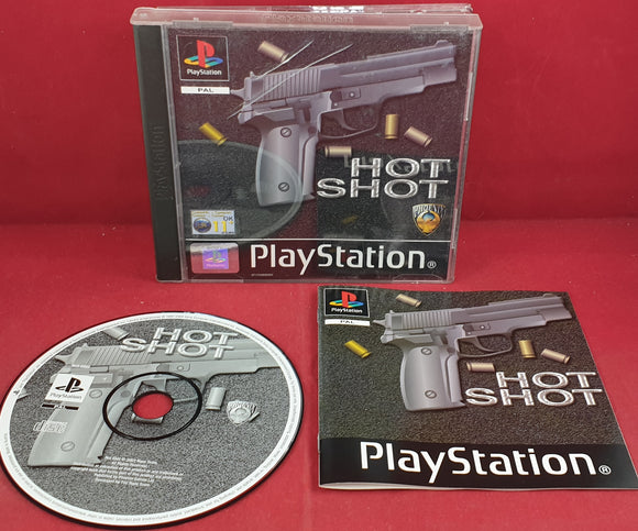 Hot Shot Sony Playstation 1 (PS1) Game