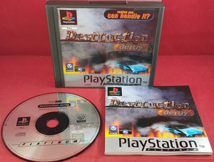 Destruction Derby Platinum Sony Playstation 1 (PS1) Game
