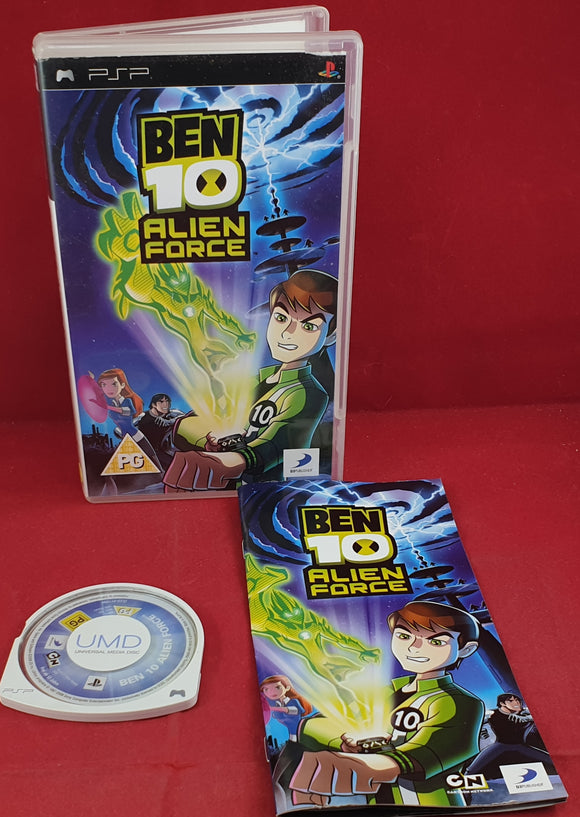 Ben 10 Alien Force Sony PSP Game