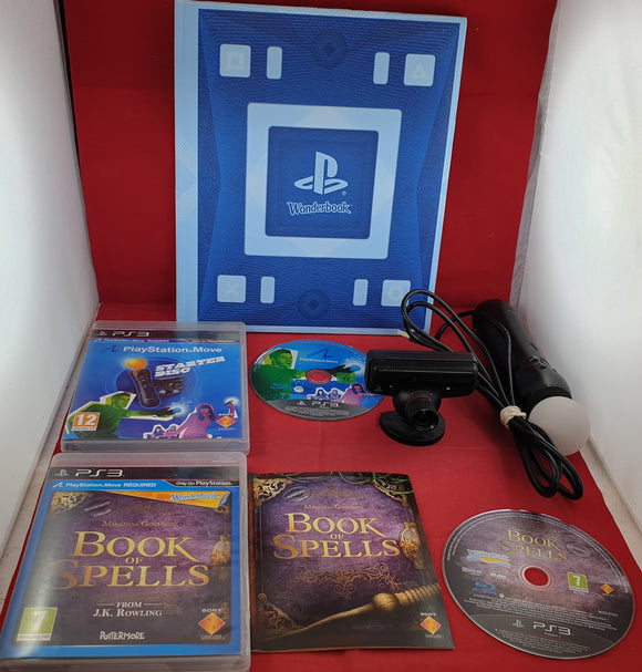 Book of Spells & Move Starter Disc with Wonderbook, Camera and Move Controller Sony Playstation 3 (PS3) Game & Accessory