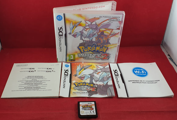 Pokemon White Version 2 Nintendo DS Game