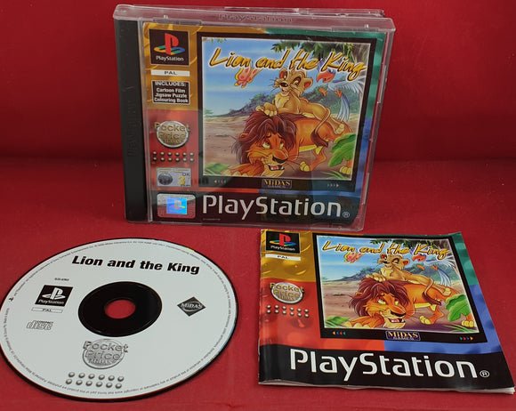 Lion and the King Sony Playstation 1 (PS1) Game