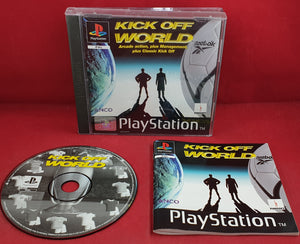 Kick Off World Sony Playstation 1 (PS1) RARE Game