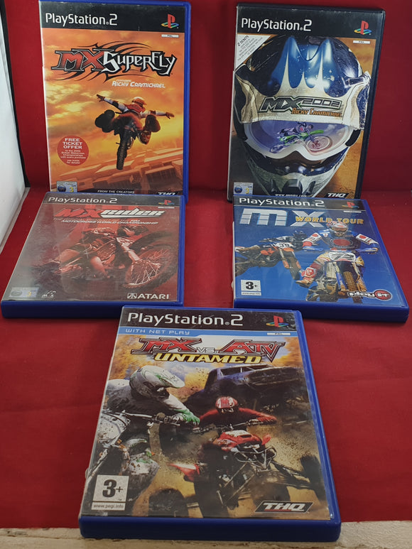 MX X5 Sony Playstation 2 (PS2) Game Bundle