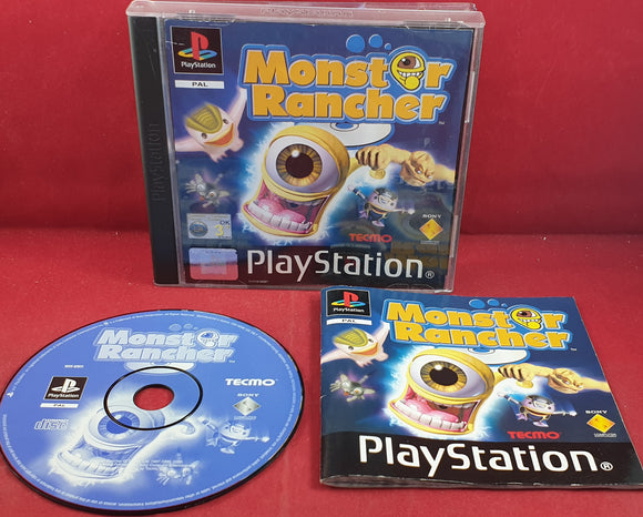 Monster Rancher Sony Playstation 1 (PS1) RARE Game