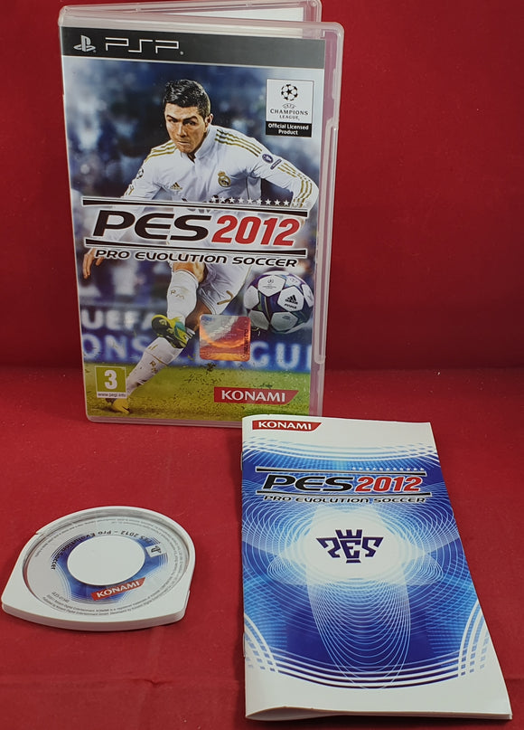 PES Pro Evolution Soccer 2012 Sony PSP Game