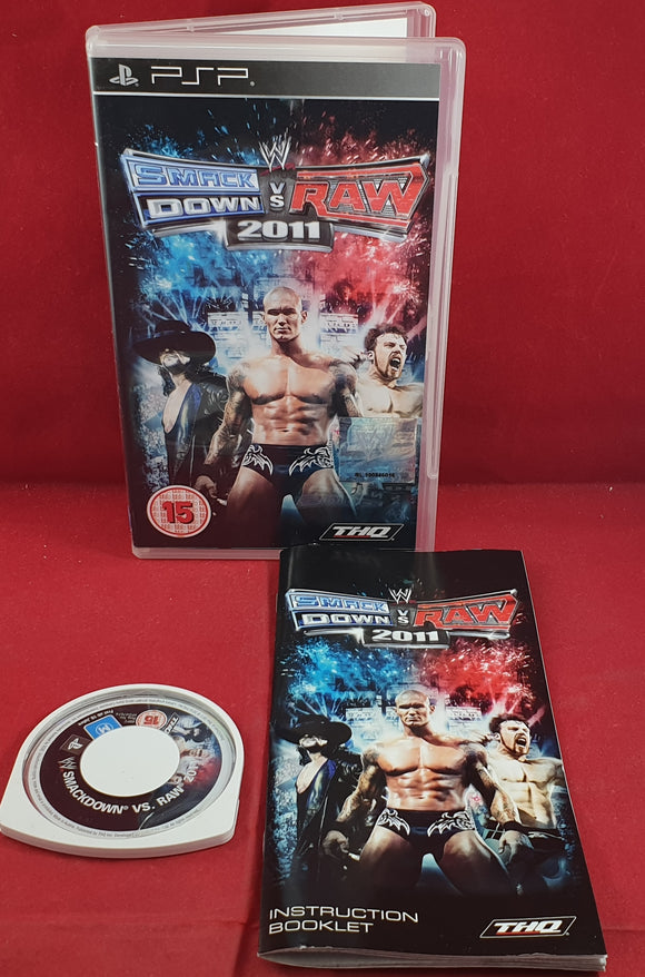 WWE SmackDown Vs Raw 2011 Sony PSP Game