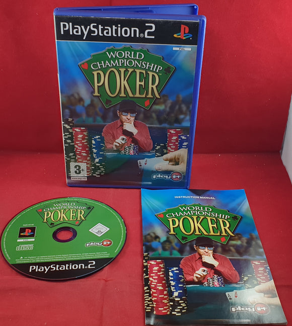 World Championship Poker Sony Playstation 2 (PS2) Game